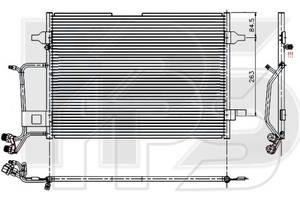 Радиаторы кондиционера Audi A4