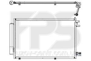 Радиатор кондиционера Ford Fiesta (Форд Фиеста) 09-13/FIESTA 13- производитель NRF