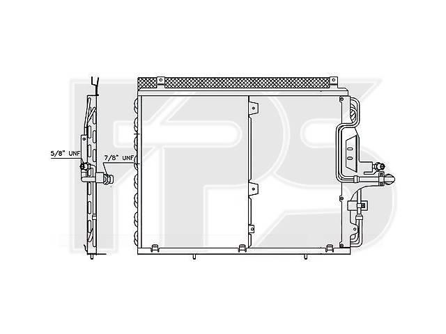 Радиатор кондиционера Mercedes 124 84-96 производитель NRF- объявление о продаже  в Киеве