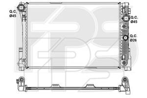 Радиатор Mercedes 204 07-11 (C-CLASS)/212 09-12 (E-CLASS) производитель NRF
