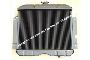 Радиатор охлаждения Волга ГАЗ 2410,31029, РАФ. Медный 2-х рядный ( про-во Иран )