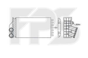 Новые Радиаторы печки Citroen C4