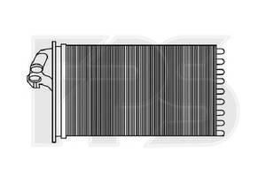 Радиаторы печки Mercedes Vito груз.