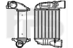 Новые Радиаторы интеркуллера Audi A4