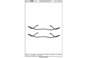 Ролик дисковых тормозн. колодок MERCEDES-BENZ / NISSAN / OPEL / ALFA ROMEO / CITROEN