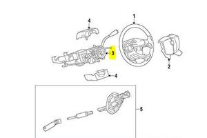 Рулевая колонка Dodge Ram 2009-1968262518AB