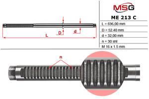 Шток рулевой рейки с ГУР MERCEDES Sprinter W904 95-98,MERCEDES Sprinter W905 98-02,VW LT 28-46 MSG ME213C