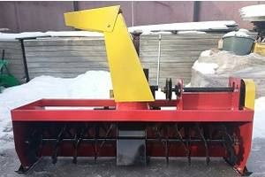Снігопідбирач для мототрактора снегоуборщик для мототрактора шнек