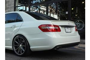 Новые Спойлеры Mercedes E-Class