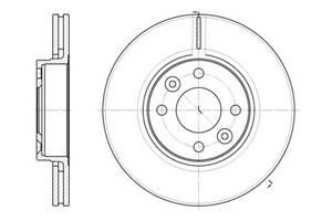 Тормозной диск DACIA LOGAN (LS_) / DACIA LOGAN MCV (KS_) / NISSAN MICRA III (K12) 2001-2013 г.