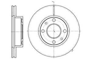 Тормозной диск DACIA SUPERNOVA / DACIA LOGAN (LS_) / PEUGEOT 308 CC (4B_) 2000-2017 г.