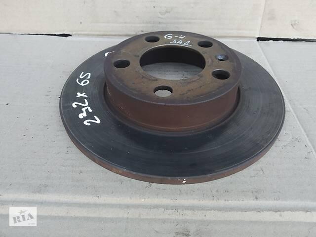 бу Тормозной диск Skoda Octavia 99-01 задний в Ровно