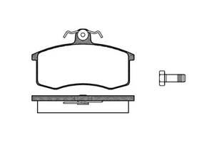 Тормозные колодки, к-кт. VW BORA (1J2) / LADA 112 (2112) / LADA 111 (2111) 1986-2014 г.