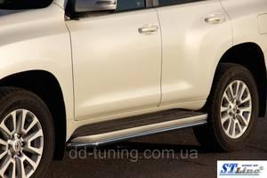 Обвесы бампера Toyota Prado 150