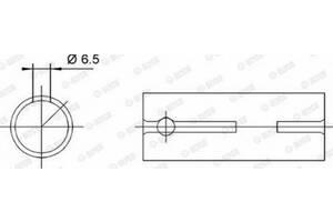 Втулка головки шатуна ARO 10 / VW SANTANA / VW CITYGOLF / VW SAVEIRO I / AUDI 1974-2012 г.