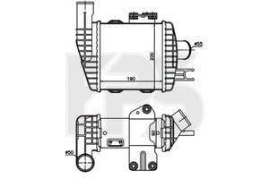 Интеркулер Hyundai Tucson / Kia Sportage (AVA) FP 32 T126-X