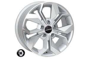 Zorat Wheels BK5168 6.5x15 5x108 ET44 DIA60.1 SP (Mercedes Citan, Renault, Citroen)