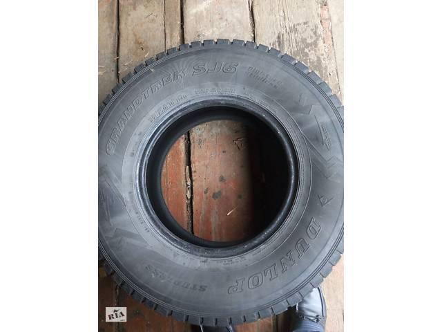 Зимние шины Dunlop Grandtrek SJ6 (275/70 R16)- объявление о продаже  в Харкові
