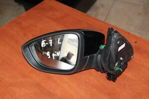 Дзеркало бокове ліве для Volkswagen Passat B7 9pin