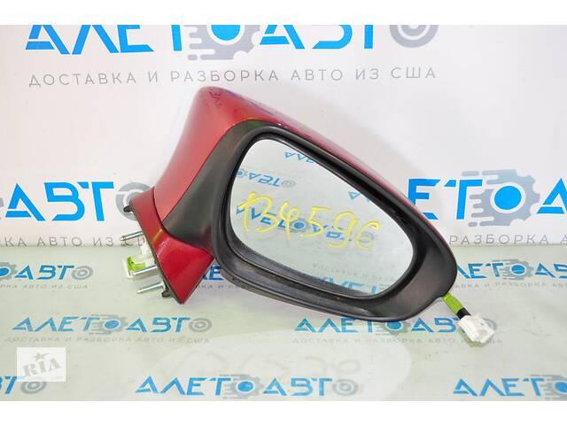Зеркало боковое правое  Lexus CT200h 11-17 7 пинов, поворотник, красное 87910-76040-A0 разборка Алето Авто- объявление о продаже  в Киеве