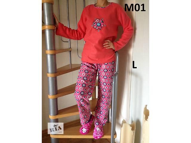 купить бу Пижама женская Флисовая флис L (46), XL (48-50) в Вышгороде