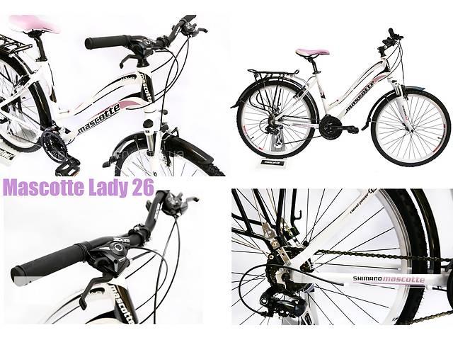 "Женский велосипед Mascotte Lady 26"" 2016 гибрид- объявление о продаже  в Северодонецке"