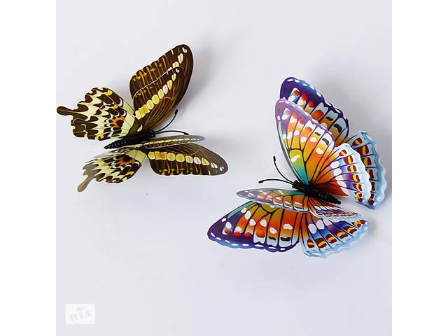 бу 3D Наклейки. Метелики, Бабки Подарунок Декор домаДень Святого Валентина  в Україні