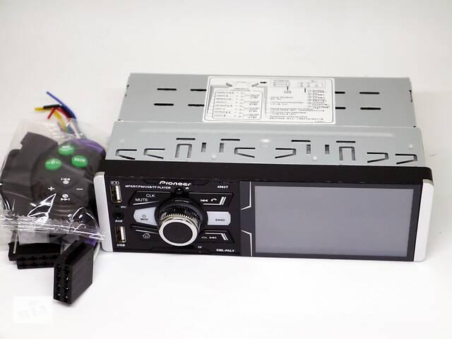 "бу Автомагнитола Pioneer 4062T ISO  - Сенсорный экран 4,1""+ RGB подсветка + DIVX + MP3 + USB + SD + Bluetooth + AV-in в Киеве"