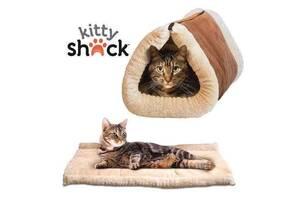 Будиночок-лежанка для собак і кішок Kitty Shack