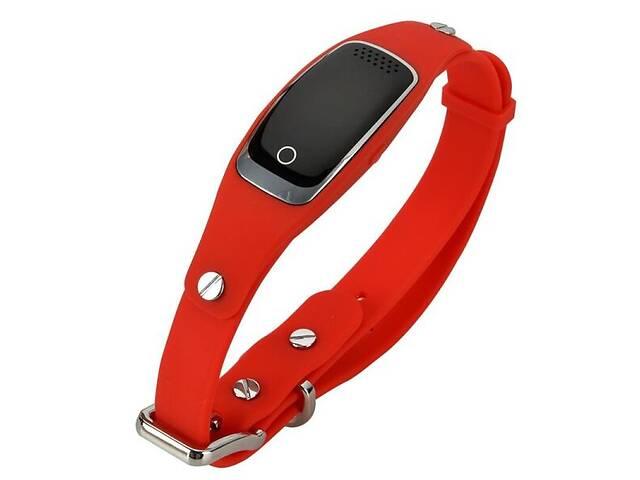 GPS ошейник для собак и котов Pet Tracker S1водонепроницаемый Красный (100424)- объявление о продаже  в Киеве