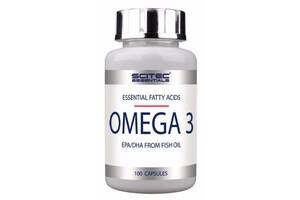Рыбий жир Scitec Nutrition Omega 3, 100 капс (104293)