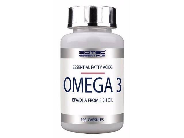 бу Рыбий жир Scitec Nutrition Omega 3, 100 капс (104293) в Полтаві