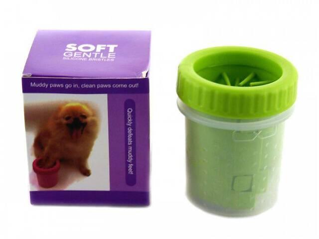 бу Стакан для мытья лап любимым питомцам Soft pet foot cleaner, лапомойка для собак в Харькове