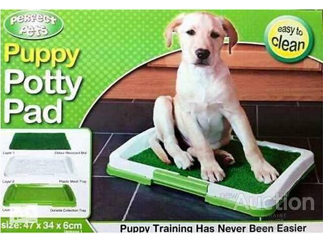 Туалет для собак Puppy Potty Pad- объявление о продаже  в Харкові