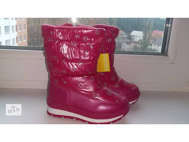 продам Зимняя детская  обувь, дутики Том.м р-р23-30 бу в Киеве