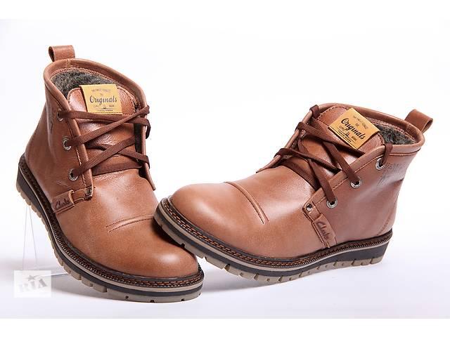 купить бу Зимние ботинки Clarks Urban Tribe из качественной кожи в Вознесенске