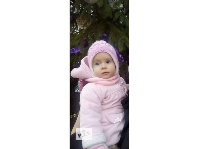 Зимняя шапка для девочки- объявление о продаже  в Львове