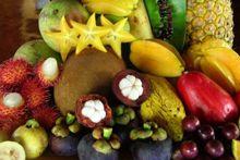 Экзотические овощи и фрукты