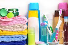Засоби гігієни та туалетні приналежності