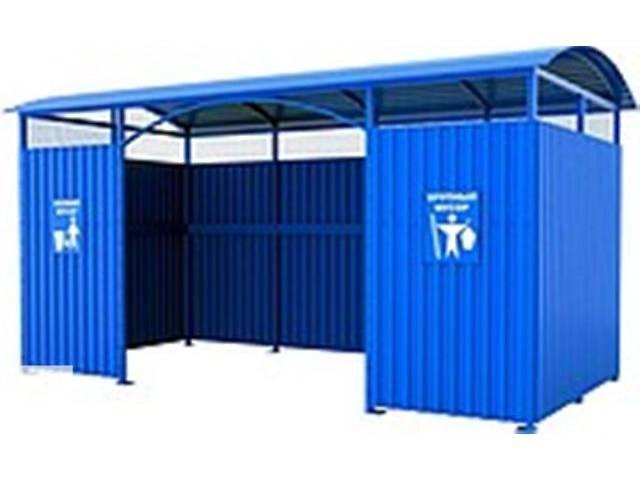 Площадка (навес) для мусорных контейнеров- объявление о продаже