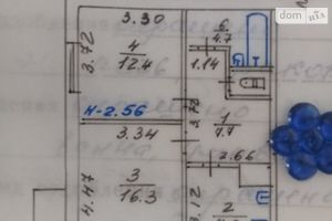 Продается 2-комнатная квартира 57 кв. м в Мариуполе