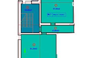 Продается офис 113.4 кв. м в нежилом помещении в жилом доме