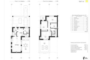 Продается дом на 3 этажа 123.5 кв. м с участком