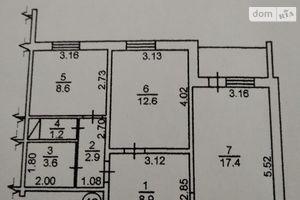 Продается 2-комнатная квартира 57 кв. м в Броварах