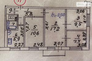 Продается 4-комнатная квартира 62 кв. м в Мариуполе
