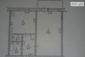 Продается 1-комнатная квартира 36 кв. м в Житомире