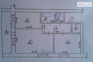 Продається 2-кімнатна квартира 49 кв. м у Іллінцях