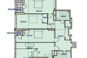 Продається 5-кімнатна квартира 142 кв. м у Дніпрі
