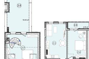 Продается 2-комнатная квартира 81 кв. м в Львове