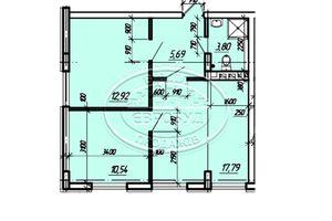 Продается 3-комнатная квартира 50.74 кв. м в Тернополе